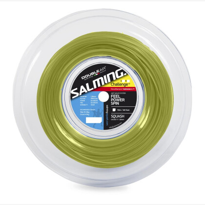 SALMING Challenge String Purple/SafetyYellow Reel 110m