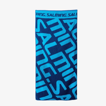 SALMING Shower Towel Navy/Blue