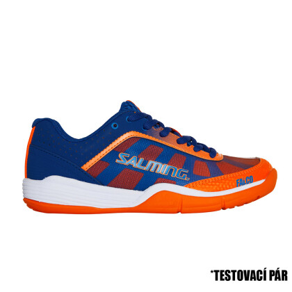 TestDay SALMING Falco Kid Limoges Blue/Orange Flame 13 UK, 31 1/3 EUR
