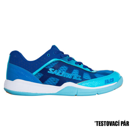 TestDay SALMING Falco Women Limoges Blue/Blue Atol 3,5 UK, 36 EUR