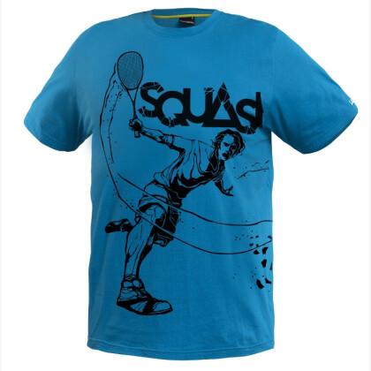 SALMING Squash Tee Blue