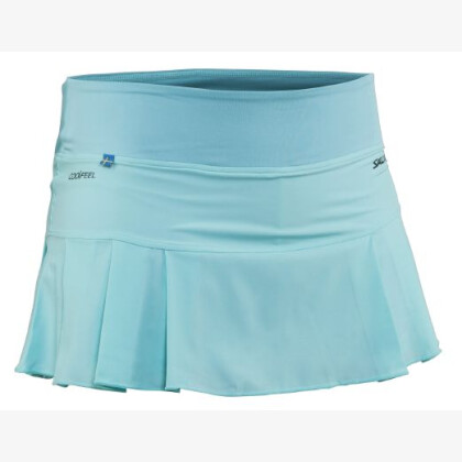 SALMING Squash Strike Skirt Turquoise