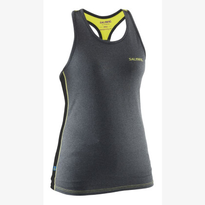 SALMING Run T-Back Tanktop Wmn Grey