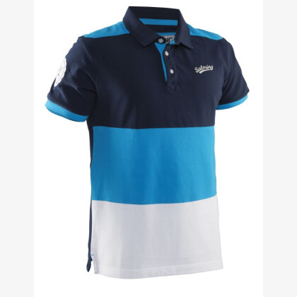 SALMING Evergreen Polo Men Navy/Cyan