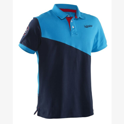 SALMING Oak Polo Men Cyan/Navy