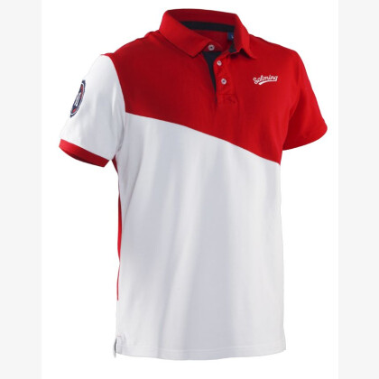 SALMING Oak Polo Red/White