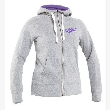 SALMING Core Hood Women Lt Grey Melange