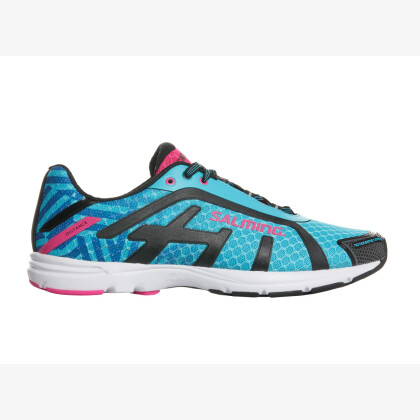 SALMING Distance D6 Shoe Women Blue Atoll