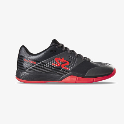 SALMING Viper 5 Shoe Men GunMetal/Red