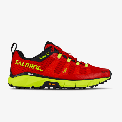 SALMING Trail 5 Shoe Women Poppy Red/Safety Yellow