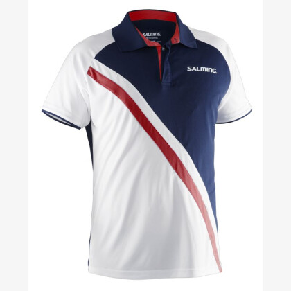 SALMING Performance Polo Men Navy/White