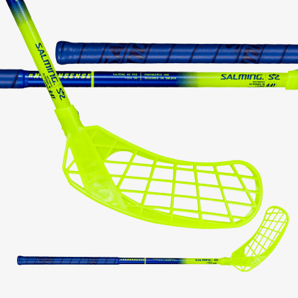 SALMING Quest2 Mid Blue/Yellow