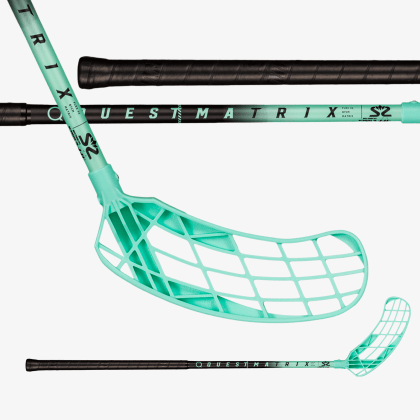 SALMING Matrix 32 Black/Turquoise
