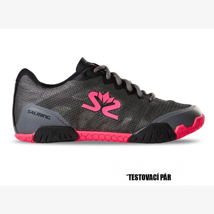 TestDay SALMING Hawk Shoe Women GunMetal/Pink 7 UK