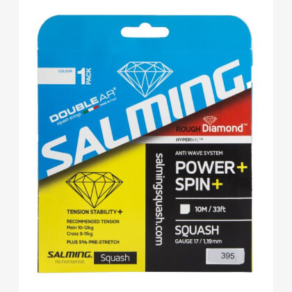 SALMING Rough Diamond String Single Transparent Single 10m