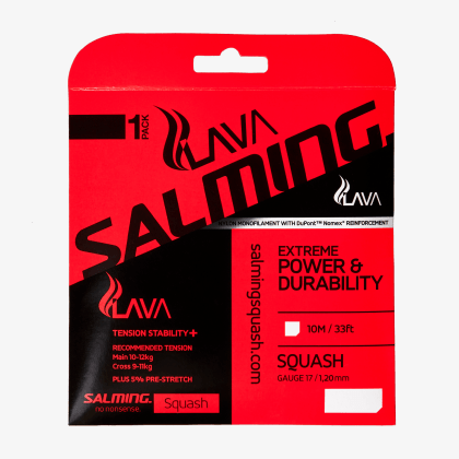 SALMING Lava String Single Red Single 10m
