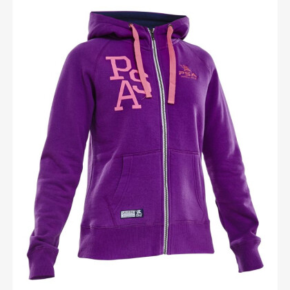SALMING PSA Hood Wmn Purple Dahlia