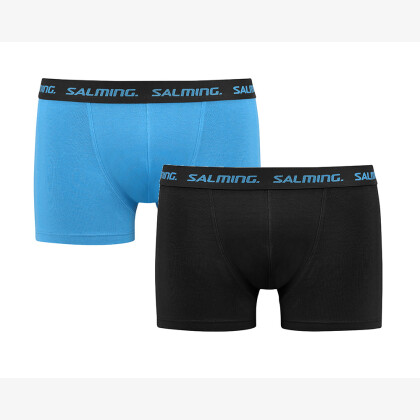 SALMING Freeland Boxer 2-pack Black/Blue