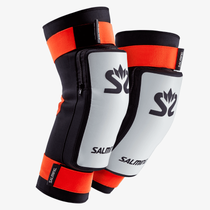SALMING Kneepads E-Series White/Orange