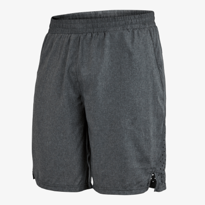 SALMING Run Runner Shorts Men Dark Grey Melange