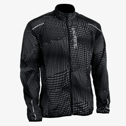 SALMING Run Ultralite Jacket 3.0 Men Black All Over Print