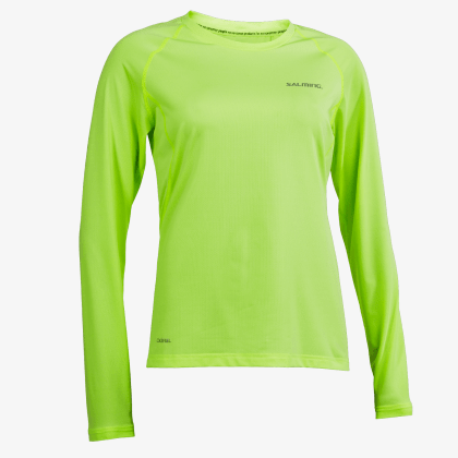 SALMING Run Balance LS Tee Women Sharp Lime