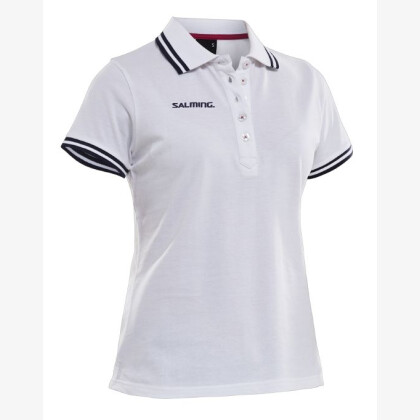 SALMING Team Polo Women White