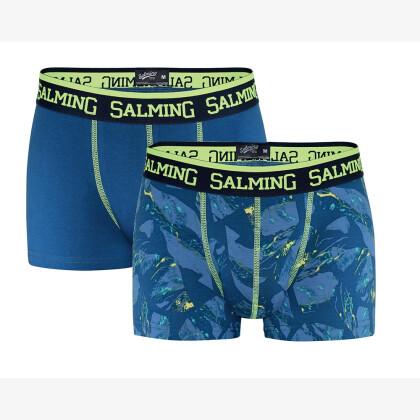 SALMING Jared Boxer 2-pack Navy/Yellow