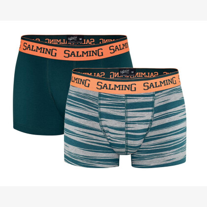 SALMING Jonas Boxer 2-pack Green/Grey