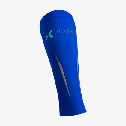 ROYAL BAY Motion kompresní lýtkové návleky modré