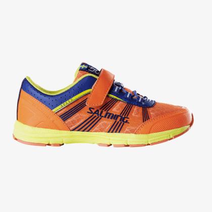 SALMING Speed Shoe Kid Velcro Shocking Orange