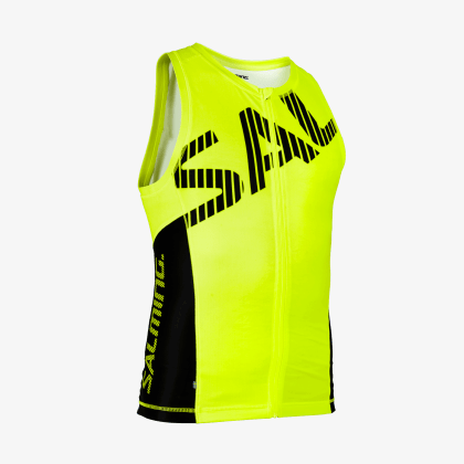 SALMING Triathlon Singlet Men Yellow/Black
