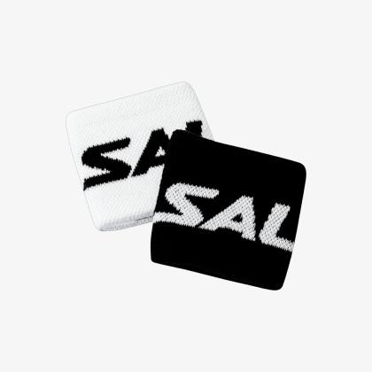 SALMING Wristband Short 2-pack Black/White