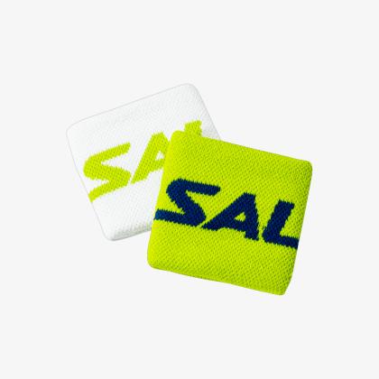 SALMING Wristband Short 2-pack Green/White