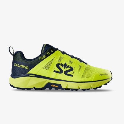 TestRun SALMING Trail 6 Men Safety Yellow/Navy