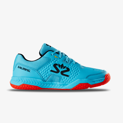 TestDay SALMING Hawk Court Shoe JR Blue/Red