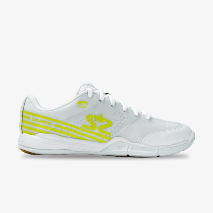 TestDay SALMING Viper 5 Shoe Women White/Fluo Green