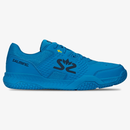 SALMING Hawk Court Shoe Men Brilliant Blue/Poseidon Blue