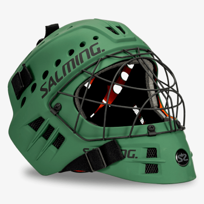 SALMING Phoenix Elite Helmet Camping Green